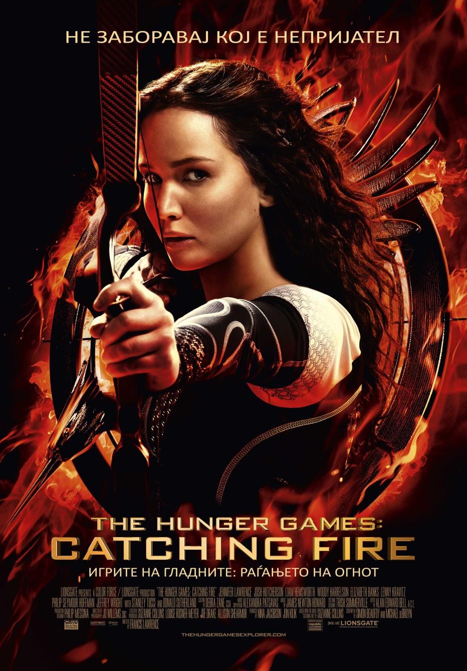 Игрите на гладните: Раѓањето на огнот The Hunger Games: Catching Fire