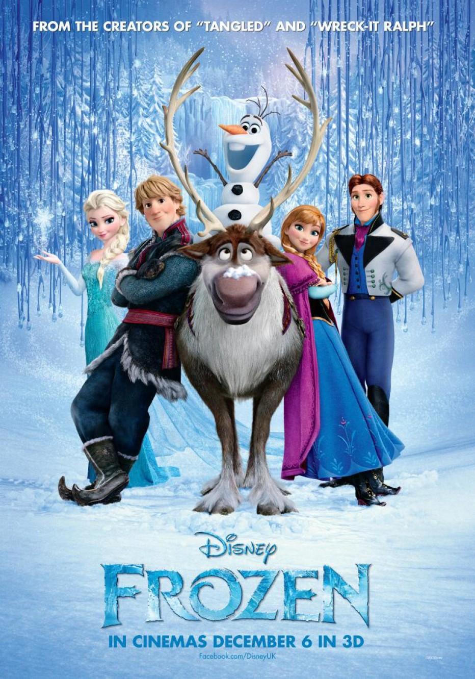 Снежно кралство 3D  Frozen