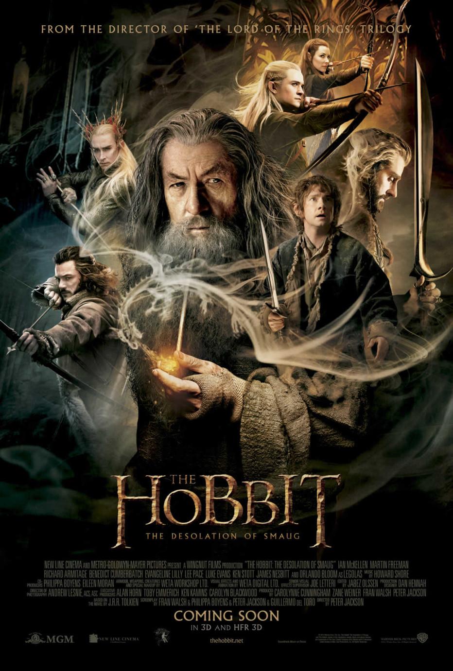 Хобит: Пустошот на Смауг HFR 3D The Hobbit: The Desolation of Smaug