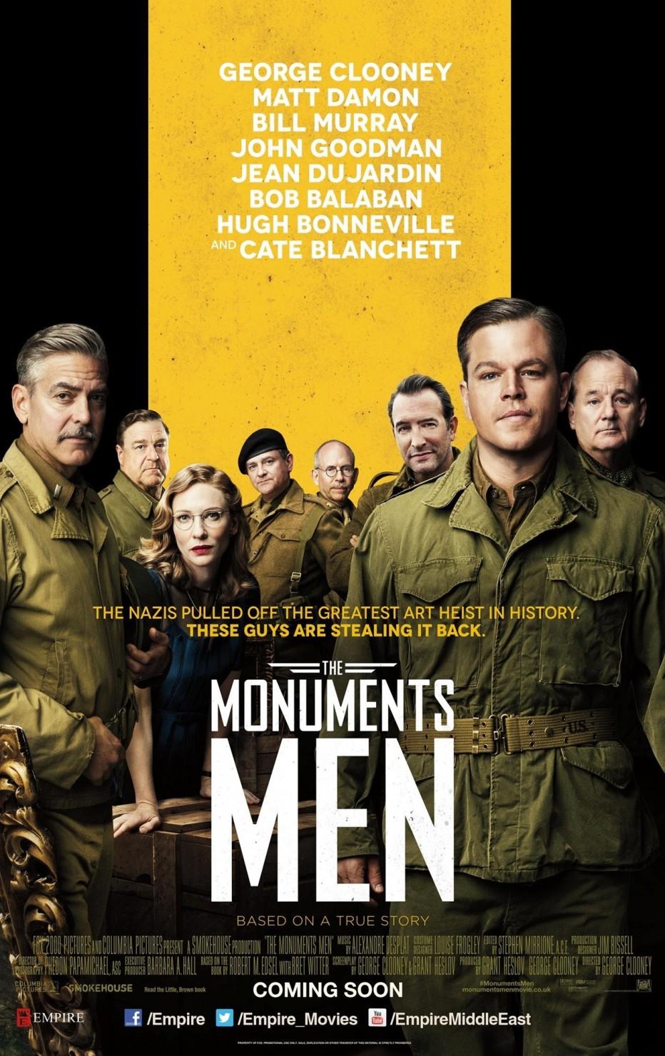 Чувари на споменици  The Monuments Men