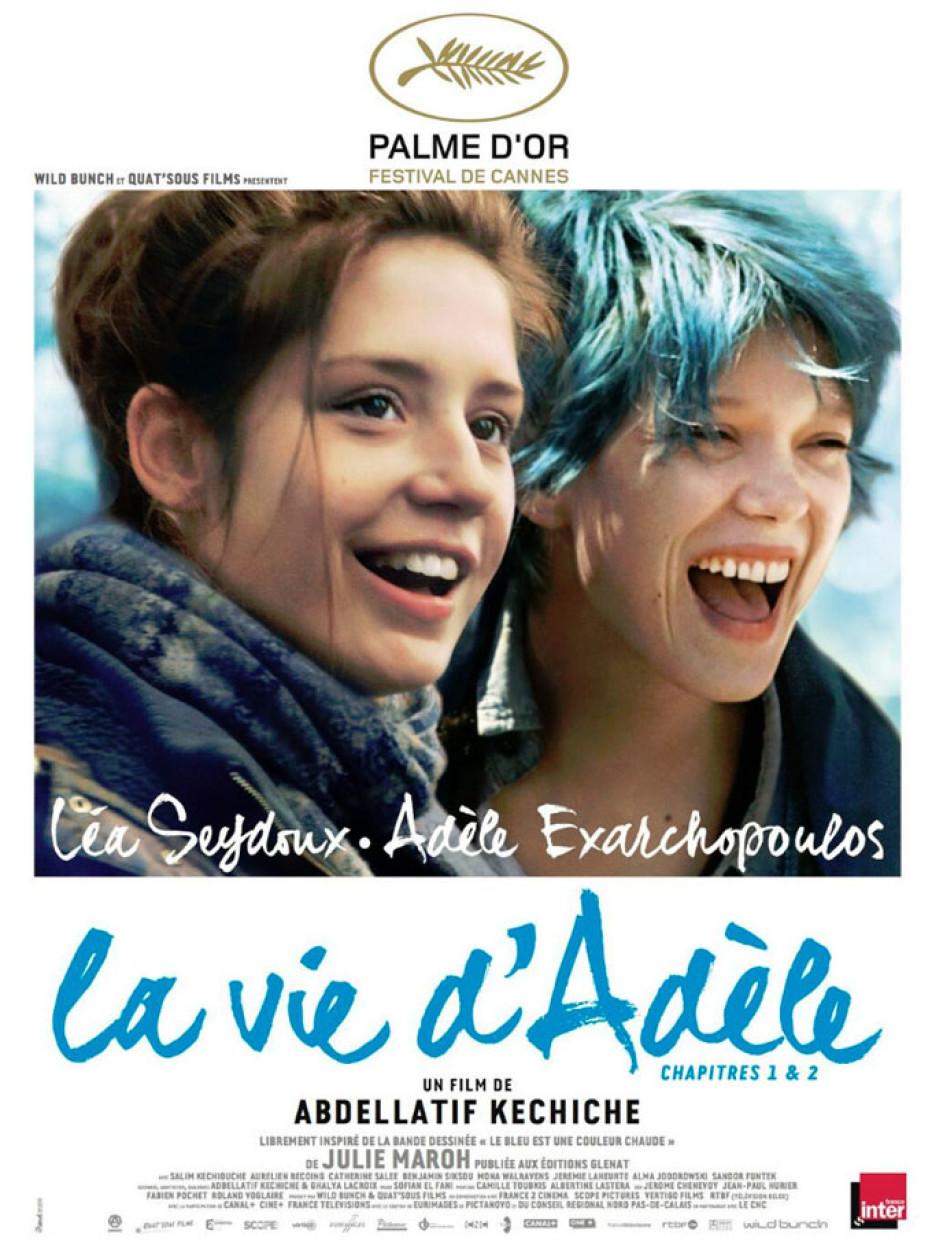 СИНА Е НАЈТОПЛАТА БОЈА La vie d'Adèle