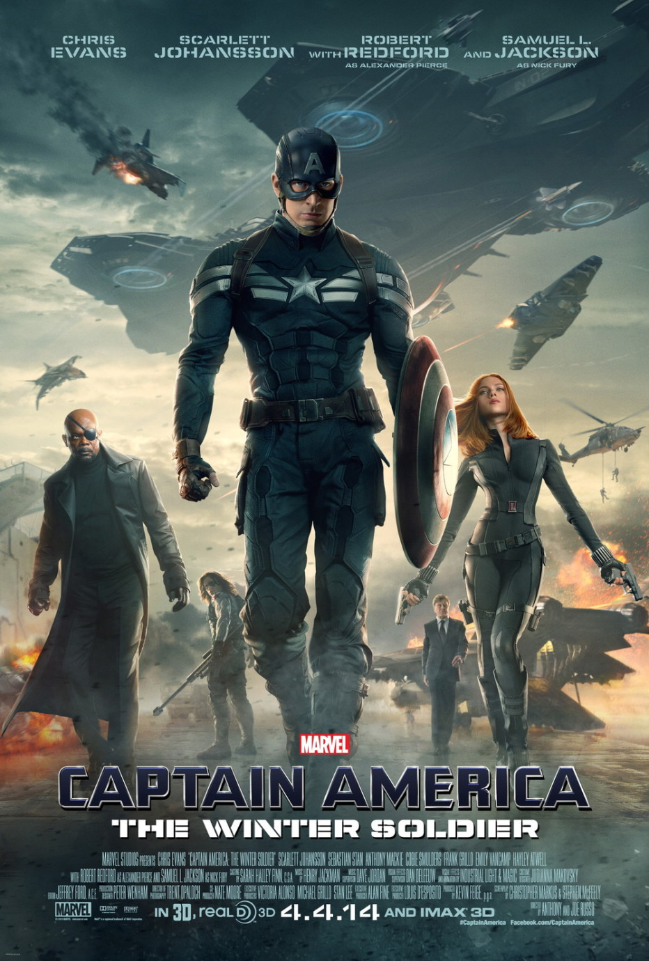 КАПЕТАН АМЕРИКА Captain America: The Winter Soldier